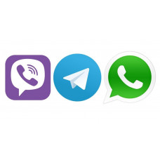 У нас запрацював Viber, Telegram, WhatsApp