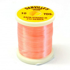 Шовк нейлоновий Danville's Nylon Floss, флуо-рожевий (SHELL PINK)