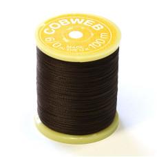 Монтажна нитка Gordon Griffith's Cobweb Thread (6/0), коричнева (Brown)