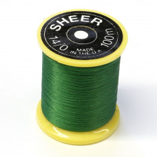 Монтажна нитка Gordon Griffith's Sheer Ultrafine Thread (14/0), зелена (Green)