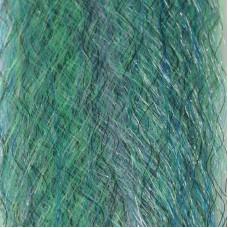 Матеріал для крила стримерів Just Add H2O Baitfish Blend, колір зеленувато блакитний (MACKERAL)