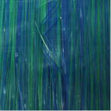 Матеріал для крила  стримерів Just Add H2O Flat 'N Fine, синьо-зелений ( AQUAMARINE)