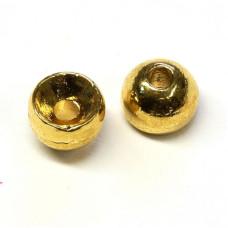 Вольфрамові головки Hareline Tungsten Beads, 5.5мм, золоті (GOLD)