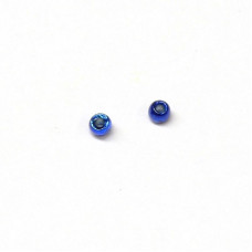Вольфрамові головки Hareline Plummeting Tungsten Beads, 1.5мм, синій металік (METALLIC BLUE)