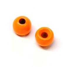 Вольфрамові головки Hareline Plummeting Tungsten Beads, 4.6мм, флуо-помаранчевий (FL ORANGE)