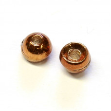 Вольфрамові головки Hareline Plummeting Tungsten Beads, 4.6мм, коричневий металік (METALLIC BROWN) Купити за 117 грн.