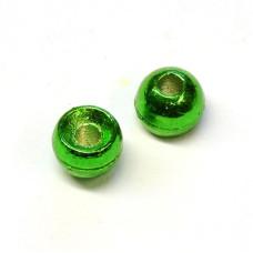 Вольфрамові головки Hareline Plummeting Tungsten Beads, 4.6мм, зелений металік (METALLIC GREEN) Купити за 117 грн.