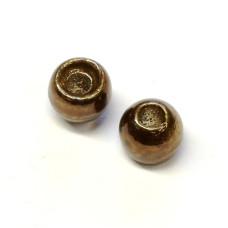 Вольфрамові головки Hareline Plummeting Tungsten Beads, 4.6мм, оливковий металік (METALLIC OLIVE)