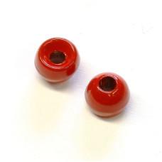 Вольфрамові головки Hareline Plummeting Tungsten Beads, 4.6мм, червоні (RED) Купити за 117 грн.