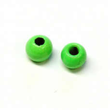 Вольфрамові головки Hareline Plummeting Tungsten Beads, 3.8мм, шартрез (FL CHARTREUSE)