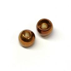 Вольфрамові головки Hareline Plummeting Tungsten Beads, 3.8мм, коричневий металік (METALLIC BROWN) Купити за 117 грн.