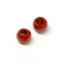 Вольфрамові головки Hareline Plummeting Tungsten Beads, 3.8мм, червоні (RED) Купити за 117 грн.