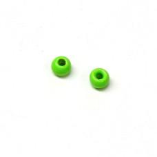 Вольфрамові головки Hareline Plummeting Tungsten Beads, 2.0мм, шартрез (FL CHARTREUSE)