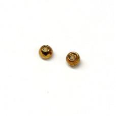 Вольфрамові головки Hareline Plummeting Tungsten Beads, 2.0мм, коричневий металік (METALLIC BROWN) Купити за 117 грн.
