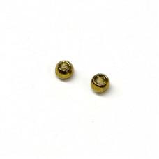 Вольфрамові головки Hareline Plummeting Tungsten Beads, 2.0мм, оливковий металік (METALLIC OLIVE) Купити за 117 грн.
