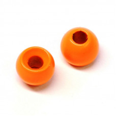 Вольфрамові головки Hareline Plummeting Tungsten Beads, 5.5мм, флуо-помаранчеві (FL ORANGE)