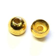 Вольфрамові головки Hareline Plummeting Tungsten Beads, 5.5мм, золоті (GOLD)