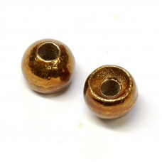 Вольфрамові головки Hareline Plummeting Tungsten Beads, 5.5мм, коричневий металік (METALLIC BROWN)