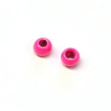 Вольфрамові головки Hareline Plummeting Tungsten Beads, 2.8мм, флуо-рожеві (FL PINK)