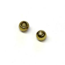 Вольфрамові головки Hareline Plummeting Tungsten Beads, 2.8мм, оливковий металік (METALLIC OLIVE)