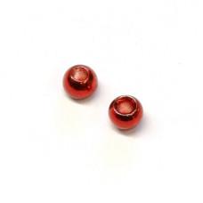Вольфрамові головки Hareline Plummeting Tungsten Beads, 2.8мм, червоний металік (METALLIC RED) Купити за 117 грн.