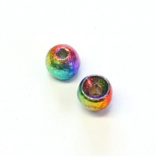 Райдужні вольфрамові головки Hareline Rainbow Hued Plummeting Tungsten Beads, 4.6мм Купити за 117 грн.