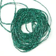 Волокно плетеное голографическое Hareline Holographic Braid, зеленое (GREEN)