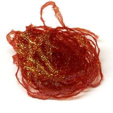 Плетене волокно Hareline Flat Diamond Braid, червоне (RED) Купити за 89 грн.