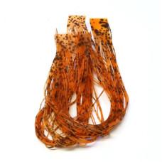 Тонкі силіконові ніжки Hareline Buggy Nymph Legs, помаранчеві (ORANGE)