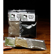 Даббінг блискучий Hareline Hare'e Ice Dub, чорний (BLACK) Купити за 75 грн.