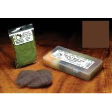Даббінг для сухих мушок Hareline Micro Fine Dry Fly Dub, коричневий (BROWN)
