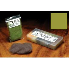 Даббінг для сухих мушок Hareline Micro Fine Dry Fly Dub, світло-оливковий (BWO OLIVE)