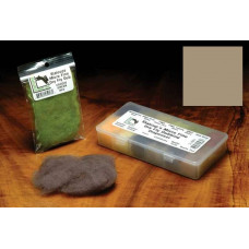 Даббінг для сухих мушок Hareline Micro Fine Dry Fly Dub, блідий оливково-коричневий (CALLIBAETIS)