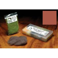 Даббінг для сухих мушок Hareline Micro Fine Dry Fly Dub, червоно-коричневий (RED QUILL)