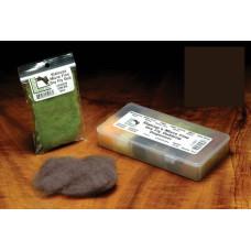 Даббінг для сухих мушок Hareline Micro Fine Dry Fly Dub, дуже темний коричневий (TRICO) Купити за 75 грн.