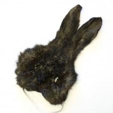 Маска зайця Hareline Hare's Mask Grade # 1, темно-сіра (DUN)