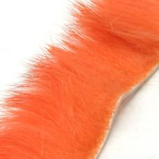 Смужки хутра кролика поперечні Hareline Cross Cut Rabbit Strips, флуо-вогненні (FL FLAME)