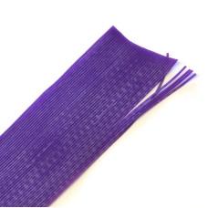 Круглі гумові ніжки Hareline Round Rubber Legs, Fine Purple (тонкі пурпурні)
