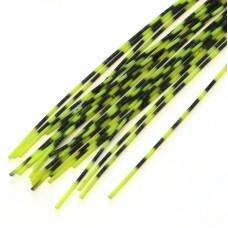 Смугасті гумові ніжки Hareline Grizzly Barred Rubber Legs, Medium Chartreuse (середні шартрез)