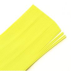 Круглі гумові ніжки Hareline Round Rubber, Medium Chartreuse (середні жовтий шартрез)