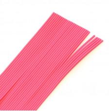 Круглі гумові ніжки Hareline Round Rubber, Medium Pink (середні рожеві)