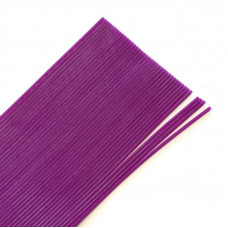 Круглі гумові ніжки Hareline Round Rubber, Medium Purple (середні пурпурні)