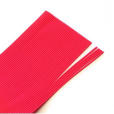 Круглі гумові ніжки Hareline Round Rubber, Medium Red (середні червоні)