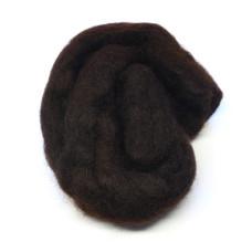 Хутро вівці Hareline Sculpin Wool, темно-коричневий (DARK BROWN)