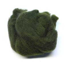 Хутро вівці Hareline Sculpin Wool, темно-оливковий (DARK OLIVE)