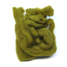 Хутро вівці Hareline Sculpin Wool, оливковий (OLIVE)