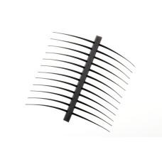 Хвостики і вуса J: son Realistic T & A, стандартні чорні (Regular Black)