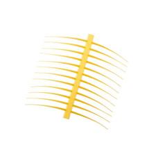 Хвостики і вуса J: son Realistic T & A, стандартні жовті (Regular Yellow)