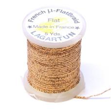 Плетена плоска нитка Lagartun Micro Flat Braid, мідна (COPPER)