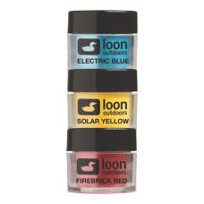 Порошкові фарби Loon FLY TYING POWDERS: PRIMARY (основні кольори)